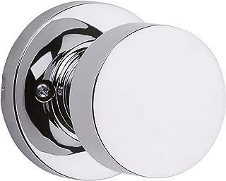 Kwikset 97880-937 Pismo Half-Dummy Inactive Door Knob Polished Chrome