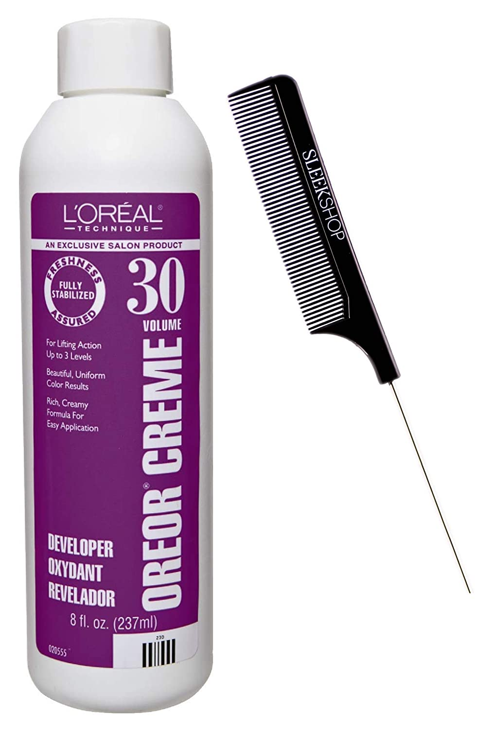 Excellence Technique OREOR Creme Developer Activator w Hair Dye Color National products for