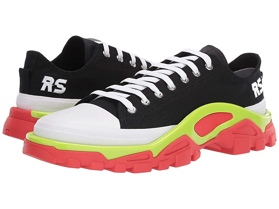 adidas by Raf Simons Raf Simons Detroit Runner (Core Black/Silver/Red) Athletic Shoes
