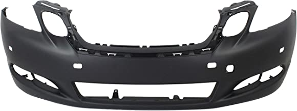 Front Bumper Cover for LEXUS GS350 2008-2011 Primed with HLW Holes with Park Assist Sensor Holes