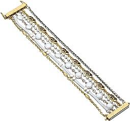 Lucky Brand - Pearl Lucky Layer Bracelet