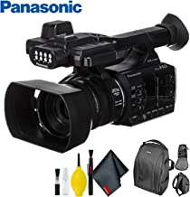 Panasonic AG-AC30 Full HD Camcorder with Touch Panel LCD Screen & Built-in LED Light - Standard Bundle