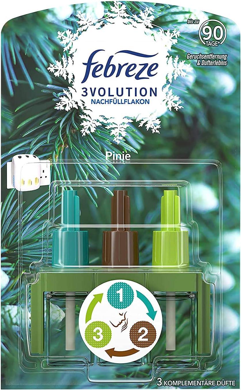 Febreze 3Volution - Recambio para ambientador (20 ml), diseño de pino