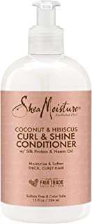 SheaMoisture 13 oz Coconut and Hibiscus Curl and Shine Conditioner