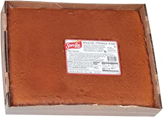 Sara Lee No Icing Sponge Sheet Cake, 12 x 16 inch -- 4 per case.