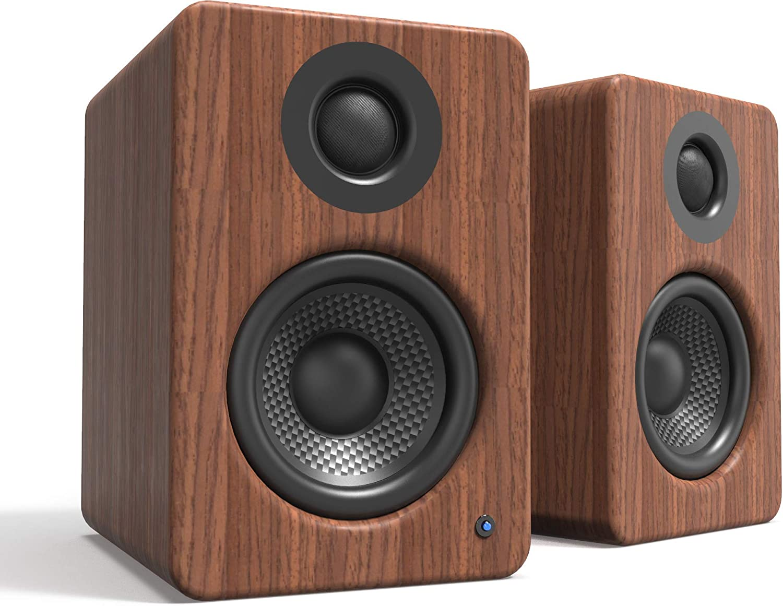 Kanto 2 Channel Powered PC Gaming Desktop Speakers | 3