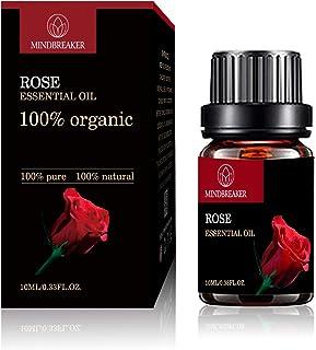 Olio essenziale biologico, oli aromatici aromatizzati organici 100% oli essenziali terapeutici puri di grado premium (10 m...