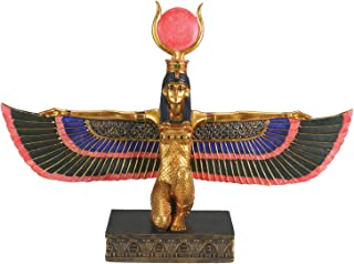 Egyptian Isis With Open Wings - Collectible Figurine Statue Figure