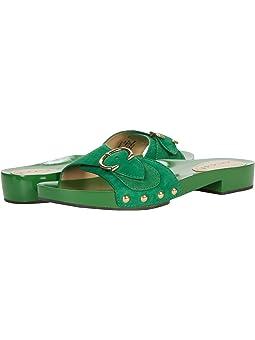 COACH Bleeker Sandal,Clover Suede