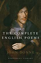 Complete English Poems John Donne