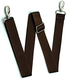 Hibate Shoulder Strap for Luggage Bags Adjustable Replacement - Brown