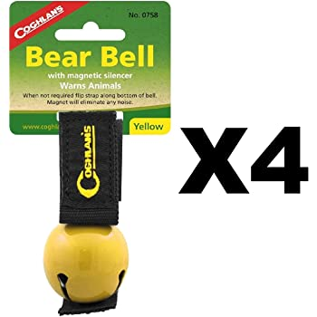 Colored Bear Bell Yellow
