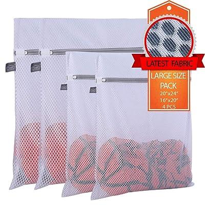 Extra Large Heavy Duty Mesh Wash Laundry Bag- P...