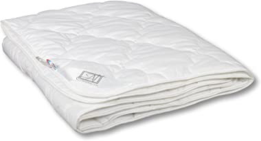 Smart And Cozy Eucalyptus 100% Organic Comforter with Eucalyptus Fiber, Lightweight, Quilted (Full XL/Twin 55''x81'')