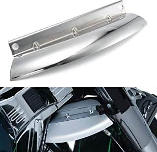Chrome Lower Triple Tree Wind Deflector Front Fork Cover For Harley Touring Electra Street Road Glide Road King 2014-2018