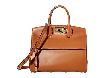 Salvatore Ferragamo The Studio Satchel Small (Sella) Handbags