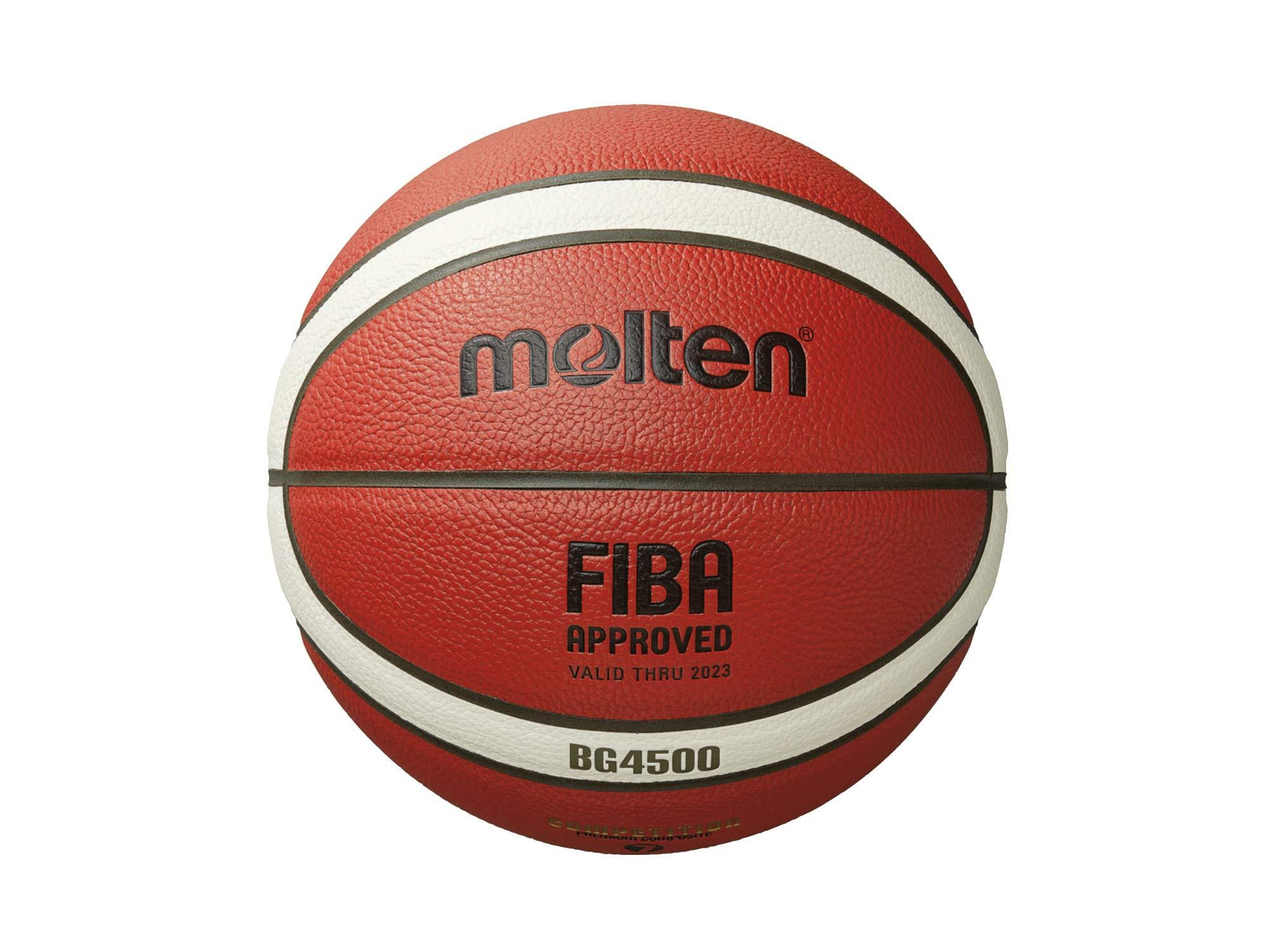 MOLTEN B7G4500 (BG4500 tamaño 7) Balón de Baloncesto de Cuero ...