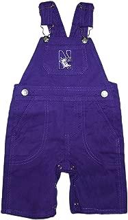 Creative Knitwear Northwestern University Wildcats Baby Overalls
