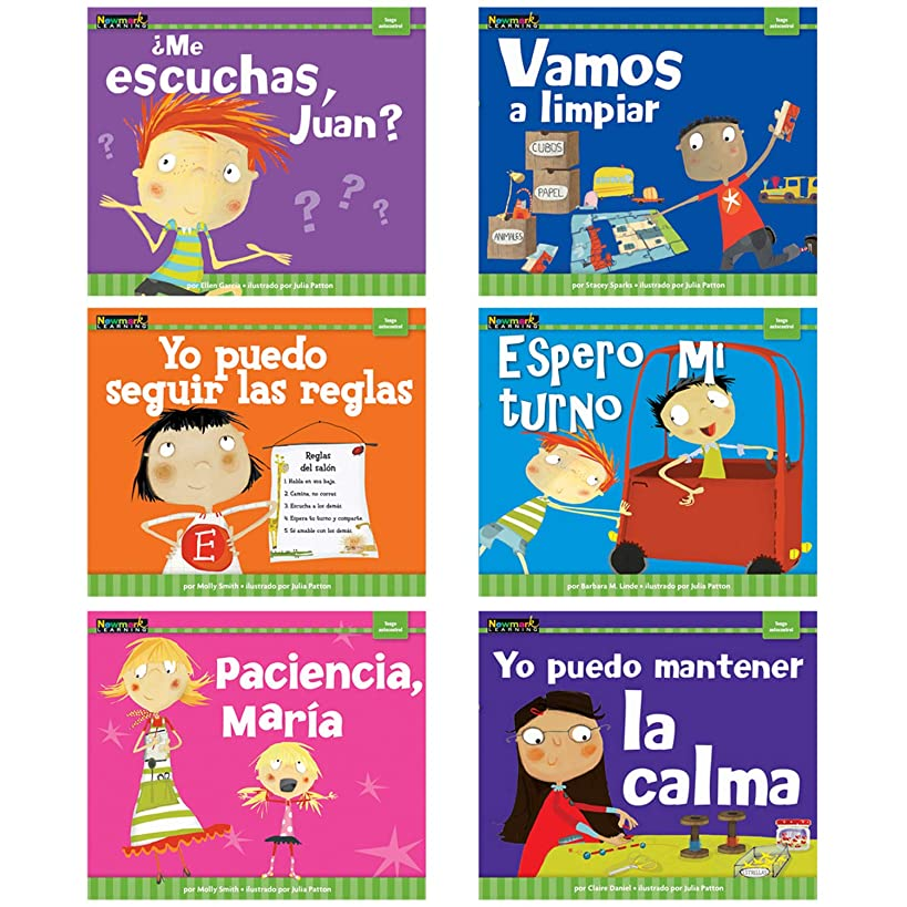 Newmark Learning Spanish Myself Readers I Am in Control Aid