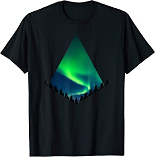 Aurora Borealis T-Shirt - Northern Lights