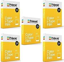 Polaroid Originals Standard Color Film for i-Type Cameras (5 Pack)