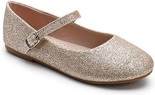 Sponsored Ad - Trary Girls Flats Mary Jane Slip-on Shoes(Toddler/Little Girls/Big Girls