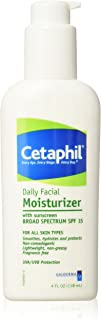 Cetaphil Daily Facial Moisturizer with sunscreen BROAD SPECTRUM SPF 15, 4 oz