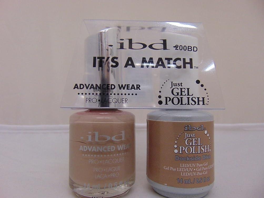 趣味ドット絶望ibd - It's A Match -Duo Pack- Dockside Diva - 14 mL / 0.5 oz Each