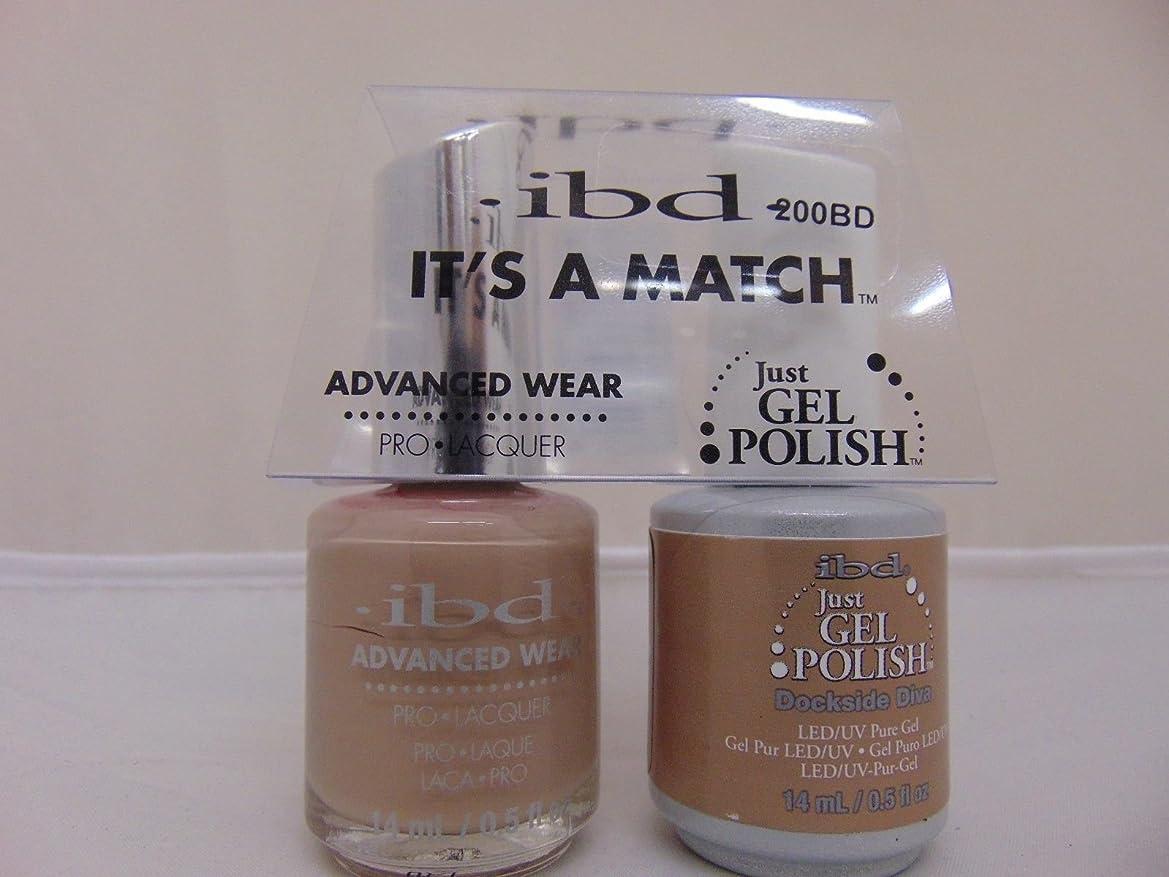 カスケードありそうに関してibd - It's A Match -Duo Pack- Dockside Diva - 14 mL / 0.5 oz Each