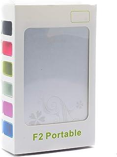 F2 Portable USB 3.0, 2.5-Inch SATA External HDD Carrying Case, Aluminum Hard Drive Enclosure