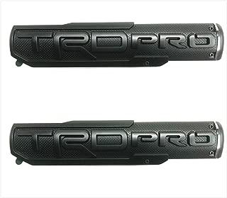 Sparkoo T-2KB All Black TRD Pro Fener Diiver Side Rear Tailgate Front Door Badge Nameplate Emblem Tundra Tacoma 4 Runner (2)