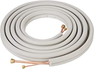 copper pipe size for split ac