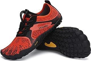 SAGUARO Chaussures Minimalistes Chaussures d'eau Chaussures Aquatique pour Enfants GR.24-36