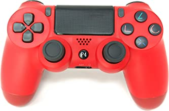 Best PS4 Controller Chasdi V2 Wireless Bluetooth with USB Cable Compatible with Sony Playstation 4, Windows PC & Android (Red) Review