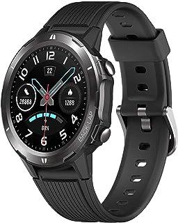 JessFash Reloj Inteligente Rastreador de Ejercicios Reloj de Pulsera Reloj Deportivo Reloj Inteligente con Ritmo cardíaco Rastreador de sueño 5 ATM Reloj Inteligente Resistente al Agua Podómetro