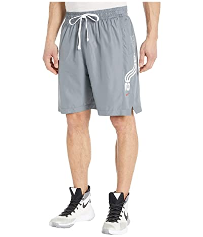 Nike Kyrie Dry Shorts (Cool Grey/Cool Grey/University Red) Men