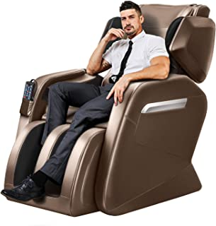 Tinycooper Massage Chairs by Ootori Full Body and Recliner, Zero Gravity Full Body Massage Chair, Full Body Massage Chair with Lower-Back and Calve Heating and Foot Roller Coffee