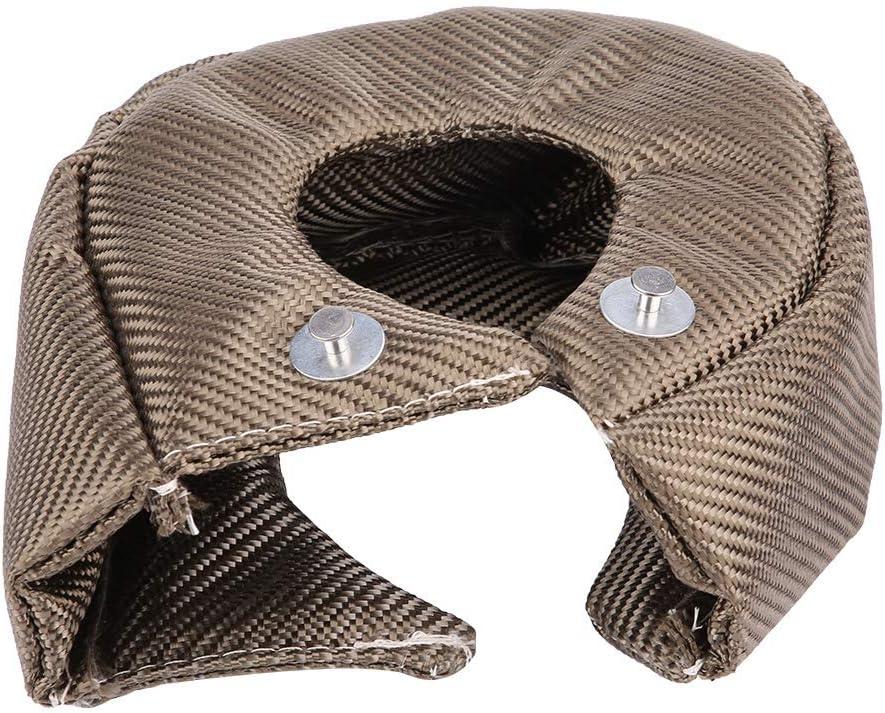 Turbo Blanket Hitzeschildabdeckung Barriere Turbolader Wrap f/ür T3 Turbolader T4
