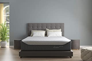 Ashley Furniture Signature Design - 14 Inch Chime Elite Mattress - Bed in a Box - King Size - White