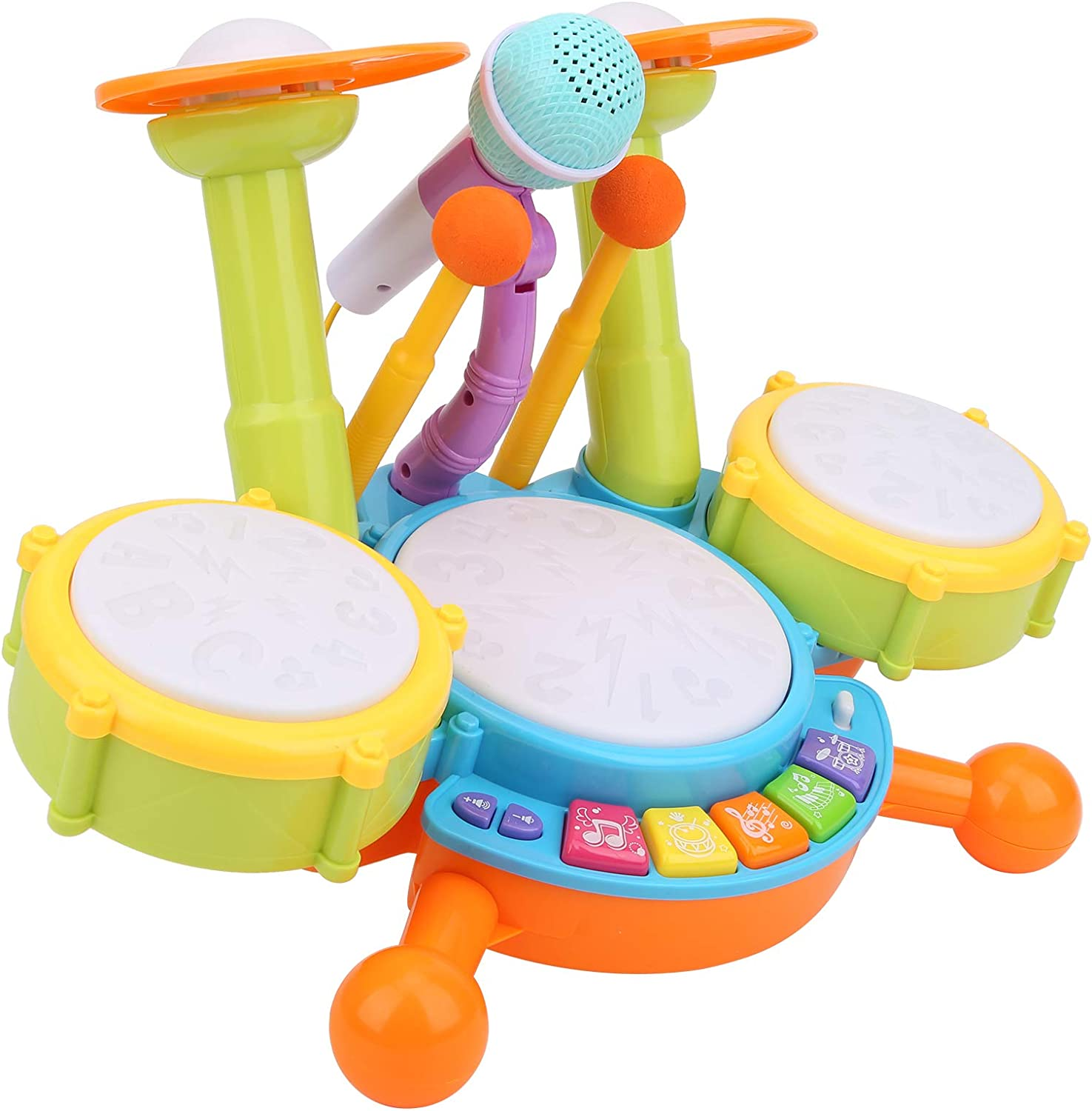 Kids Ranking TOP16 Drum Set - Electric Musical Instruments Toys OFFicial site Baby