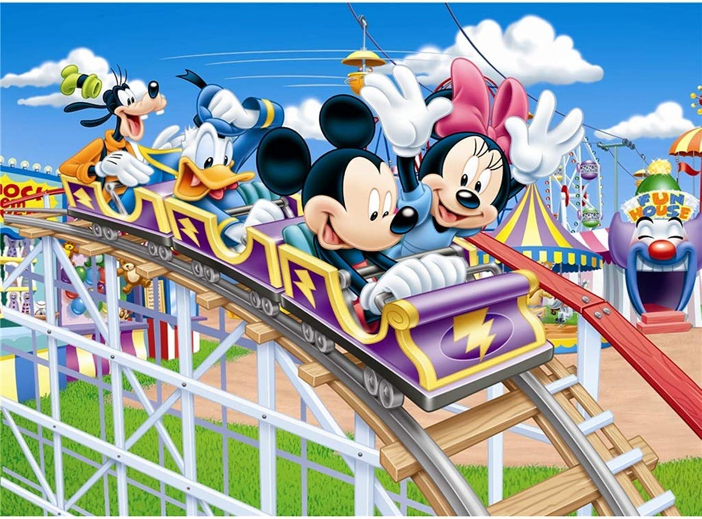 cómodamente Puzzle WYF Juguetes Juguetes Juguetes para Niños, Rompecabezas Estilo Mickey Mouse Estilo Niño, Regalos creativos para Parejas 500 1000 1500 Piezas para Niños Adultos P616 (Color   B, Talla   1500pc)  tomamos a los clientes como nuestro dios