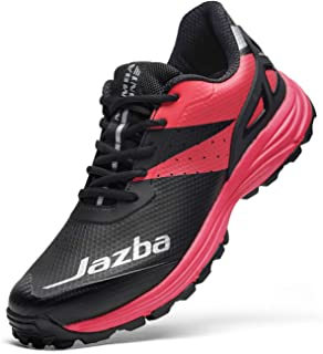 Jazba Field Hockey Shoes Women Men Mamba ONE Turf Trainers Best for Outdoor Sports Cricket Softball Baseball Lacrosse, Excellent Traction Rubber Cleats Comfortable Sneakers