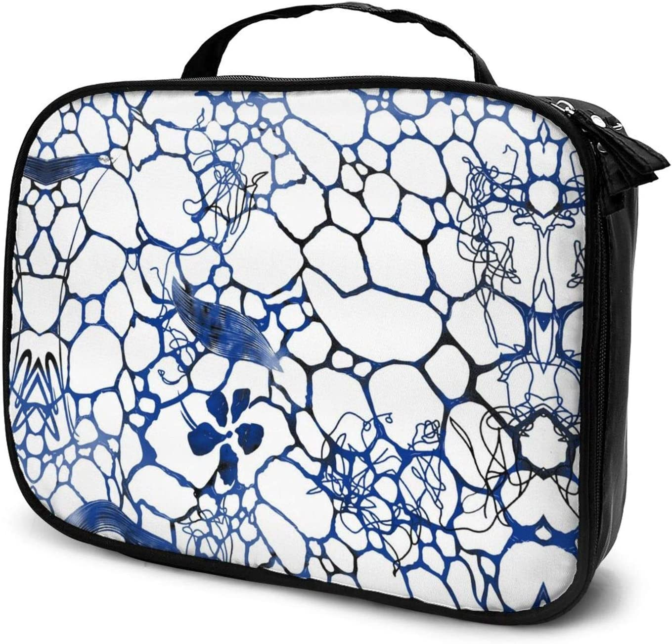 Beautiful Leopard Print Travel Train Case 70% OFF Outlet Ranking integrated 1st place Cosmetic Makeup