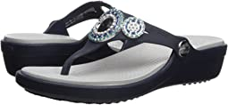 Crocs - Sanrah Diamante Wedge Flip