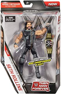 WWE Elite Collection Then Now Forever Seth Rollins Action Figure (with WWE Championship Belt)