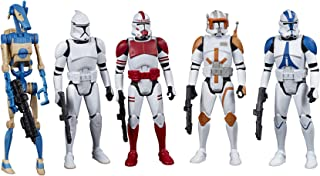 STAR WARS F1418 Celebrate the Saga Toys Galactic Republic Figure Set, 3.75-Inch-Scale Collectible Action Figure 5-Pack for...