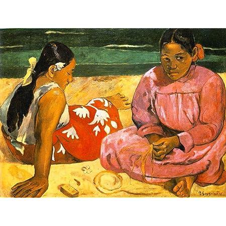 Quadro Gauguin Paul Donne Tahiti Riproduzione Stampa Su Tela Quadri Moderni Moderno Arte Cucina Soggiorno Camera Da Letto Printerland It 70x100 Cm Amazon It Cancelleria E Prodotti Per Ufficio