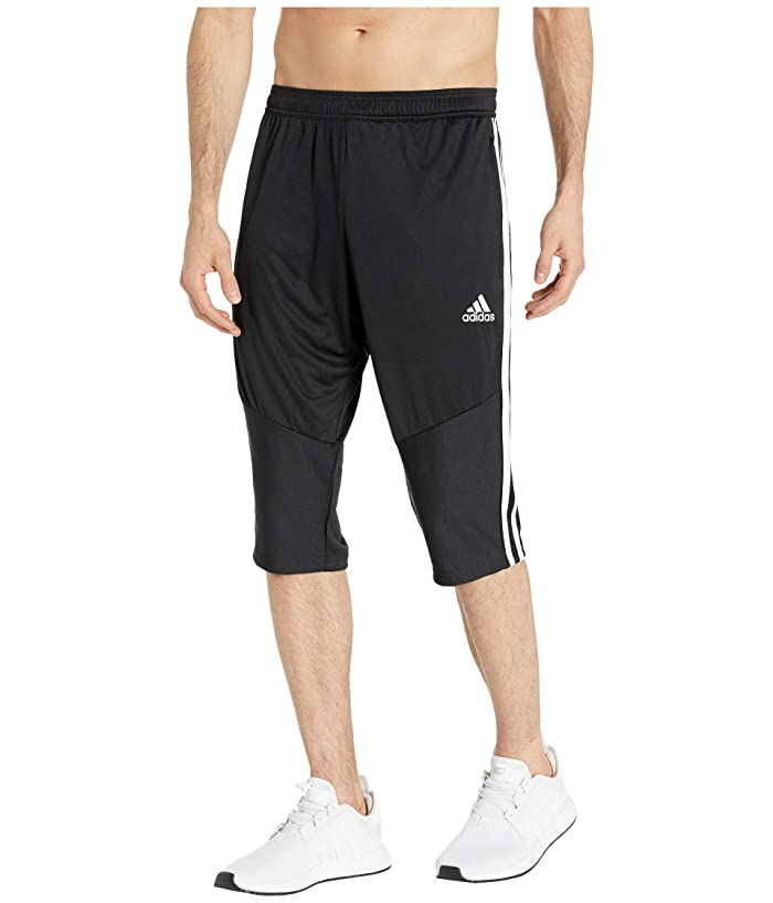 adidas Originals Tiro 3/4 Pants (Black/White) Men's Clothing