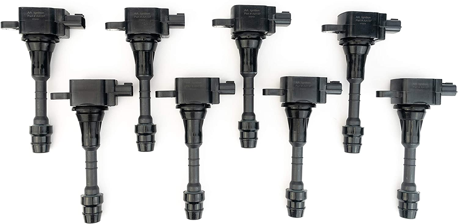 Ranking TOP12 Ignition New arrival Coil Pack Set of 8 - Infiniti with V Nissan Compatible