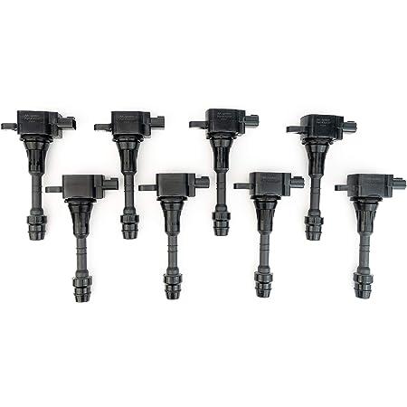 Set of 6 Ignition Spark Plug Coils for Infiniti Suzuki Nissan Pickup Truck 6 cyl